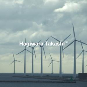 デンマーク沖の海上風力発電基