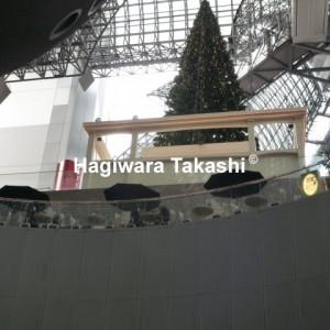 京都駅のクリスマス